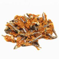 All Natural Pet food Private Label Dried Fish Pet Treats / Pet Snack For Cat thumbnail image