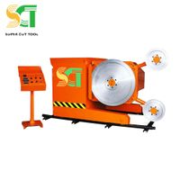 Diamond wire saw machine for quarrying and mining thumbnail image