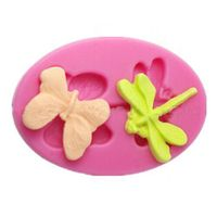 High quality 100% food grade butterfly silicone fondant mold