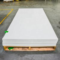 0.8mm Anti Scratch 4x8ft White Solid Color PETG plastic Sheets For Furniture