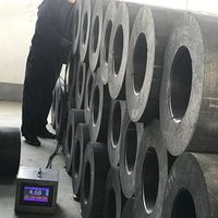 China Manufacturer Price EAF Nipple 4TPIL Graphite Electrode HP 5001200 mm thumbnail image