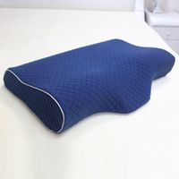 Factory wholesale customized cool gel memory foam pillow
