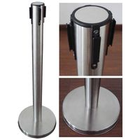 Retractable post stand for Airport