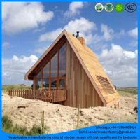 wholesale for outdoor prefab log cabin/tiny living house with the best price thumbnail image