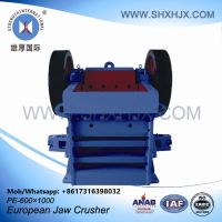 Factory Price PE Series Quarry European Jaw Rock Crusher Application In Limestone