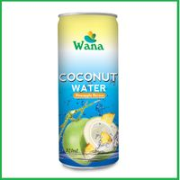 Pure Coconut Water With Pineapple 320ml Alu Can