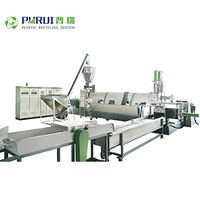 Single screw extruder pelletizing line recycling line thumbnail image