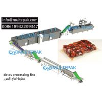 dates processing line dates washing drying heating vacuum packaging machine multepak