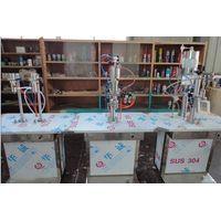 semiautomatic aerosol filling machine