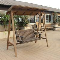 polywood swing,patio swing, plastic wood swing