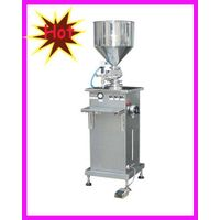 paste piston filler cosmetics heat filling machine