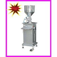 paste piston filler cosmetics heat filling machine