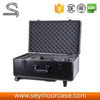 Black Aluminum Alloy DJI Phantom Vision And Plus Travel Case With Trolley