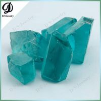 Newest Nano Products Aquamarine Color Nanosital Rough Stone