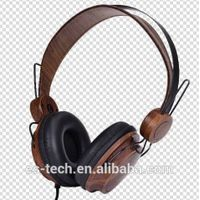 2014 new wired wood headphone for PCs thumbnail image