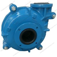 Rubber lined centrifugal ash slurry pump metal liner mine dewatering pumps thumbnail image
