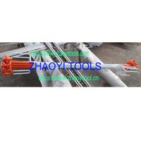 PP04 pigtail top portable treading-in paddock fencing posts