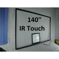 140inch custom made very large size touch screen for US Market USB 16 Points touch Windows linux os thumbnail image