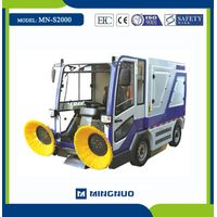 MN-S2000 road cleaning car cleaning equipment street hydraulic sweeper thumbnail image