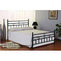 European style metal bed,Lastest design metal bed,IKEA style metal bed,SUNTOP DOUBLE 06