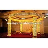 2013 fashion wedding mandap/pagoda with crystal