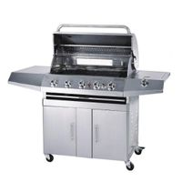 SS GAS GRILLS WITH 5 BURNER S