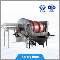 ZJN Drying Machine for environmental solution sludge treatment for Coconut Coir Drying