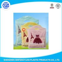 Wholesale PE Handle Plastic Packing Bag for Gift