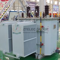 S13-M·RL-30~1600/10 Series of Three-dimensional Coil Core Oil-immersed Transformer.