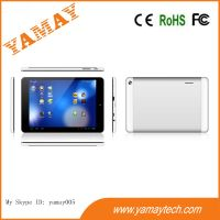 7.85inch 3G MTK8312 dual core phone tablet pc with home key