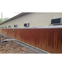 Poultry House Ventilation and Cooling System with Frame