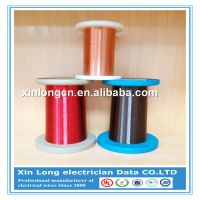 China Manufacturer Class 180 self solderable polyurethane enameled copper wire