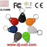 2013 Promotional PVC RFID key tag manufacuter in China