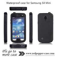Factory Wholesale Redpepper Waterproof Case for Samsung Galaxy S4
