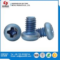 Phillips Round Head Mechanical Thread Titanium Screw