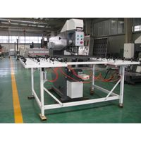 Glass drilling machine for flat glass processing