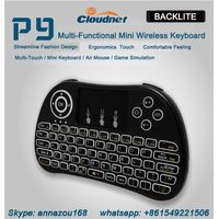 2.4g wireless mini backlit keyboard wireless keyboard for android tv box