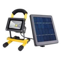 Portable solar Waterproof LED flood lights work light