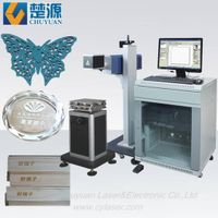 CO2 Laser engraving machine for leather,wood,glass,plastic