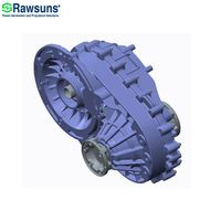 Rawsuns NEW ratio 12.48 10000rpm electric motor ev gearbox reducer for car 4.5 tons below M1 N1 M2 thumbnail image