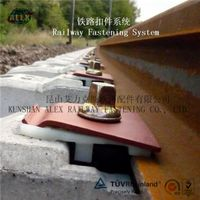 Nabla Rail Clips,Elastic Tension Nabla Clip for Railroad,Rail Clip Fastening System for Railroad thumbnail image