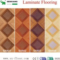12mm MDF/HDF Various Art Parquet Laminated Laminate Flooring thumbnail image