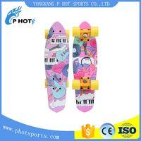 new type skateboard single kick chinese maple skateboard thumbnail image