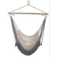 rope hanging Cotton hammock chair swing chair for Outdoor Garden leisure camping thumbnail image