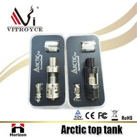 Horizontech new arctic tank 100w tank arctic top tank from china supplier