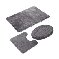 Wholesale Bathroom Rug Set 3 Pieces