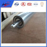 Galvanization Steel Roller Conveyor Gravity Idler
