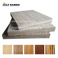 Unfinished carbonized bamboo panels 3 ply 12mm bamboo plywood sheet