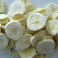Freeze Dried banana slices