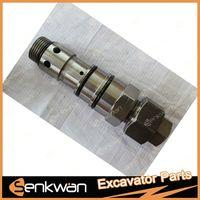 CAT 320B Excavator hydraulic relief valve.